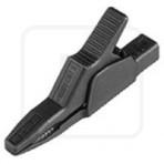 Krokodil AK2B 2540 za bananu 4mm, crni Hirschmann 1000V